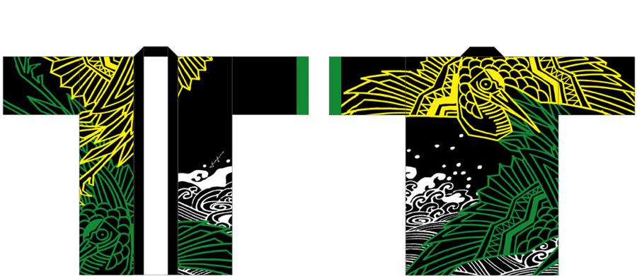 HAPPYCOAT「鶴」(TSURU)